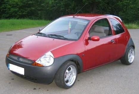 Ford Ka Windscreen